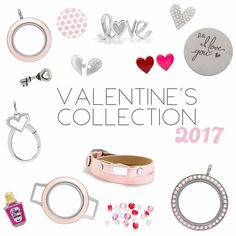 Our 2017 Valentine's Day Collection is LIVE! Here are some of the new products! A red and pink double sided Heart Emoji, Love Potion Bottle, Puzzle Piece Heart, and a Key! www.charmingsusie.origamiowl.com
