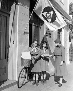 Girl Scout Cookies were sold annually by local councils around the country until World War II, when sugar, flour, and butter shortages led Girl Scouts to begin selling Girl Scout calendars to raise money for their activities.