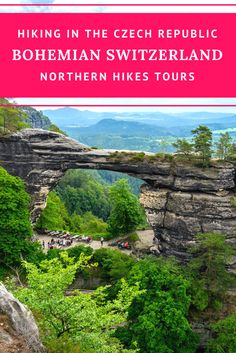 Hiking in the Czech Republic: Explore the Bohemian Switzerland National Park in the Northern region of the Czech Republic on a day trip from Prague with us! Breathtaking views guaranteed!