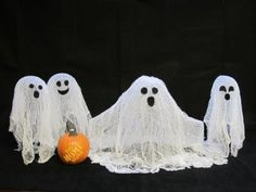 Halloween - Cheese Cloth Ghosts - Got Questions? Get Answers!