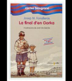 """I2 - """"La final d'en Gorka"""", de Josep Ma. Fonalleras, de la sèrie 'Contes Blaugrana (4)'. Final de Copa de 1928: el Barça d'en Platko, d'en Samitier... fa història. Dos equips lluiten com herois a Santander, amb pluja, vent i fang. En Gorka i la seva cosina ho veuran en directe, al costat d'un gran poeta (Rafael Alberti) i un gran intèrpret de tangos (Carlos Gardel), i seran més que espectadors. En Gorka i la seva cosina són testimonis d'una final històrica del Barça."""