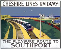 The Cheshire Lines Railway - The Pleasure Route