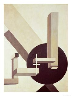 Proun 10, 1919 by El Lissitzky   Giclee Print