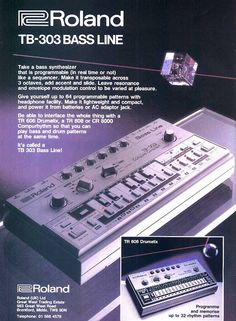 Roland Bass Line Music Production Equipment, Recording Equipment, Roland Tb 303, Music Sequencer, Music Software, Acid House, Drum Machine, Audio Sound, Music Images
