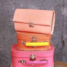 Damen Portemonnaie groß Leder Aprikot Beige