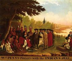 Penn's Treaty with the Indians, by Edward Hicks