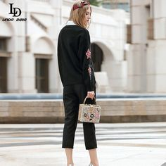 Autumn Winter Cashmere Knitted Sweater Dress Vintage Embroidery Bodycon Dress Like if you remember http://www.skaclothes.com/product/ld-linda-della-autumn-winter-cashmere-knitted-sweater-dress-women-elegant-vintage-embroidery-beading-bodycon-sheath-dress #shop #beauty #Woman's fashion #Products