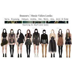 Fashion Idol, Kpop Fashion Outfits, Fashion Looks, Red Diamonds, Ex Boyfriend, Polyvore Outfits, I Dress, Girl Group, Stage