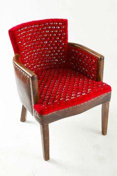 Chair Embedded with Hundreds of Plastic Eyeballs.