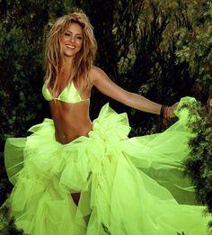 Shakira Shakira in lemon lime