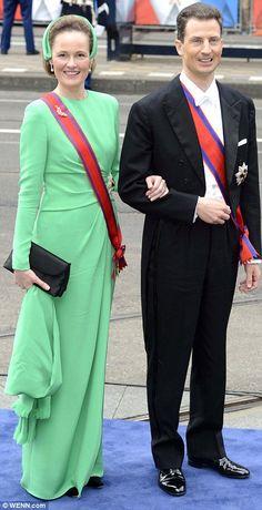 Prince Alois of Liechtenstein and Princess Sophie of Bavaria