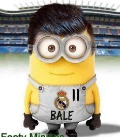 Dit is Gareth Bale, hij voetbalt bij Real Madrid met rugnummer 11