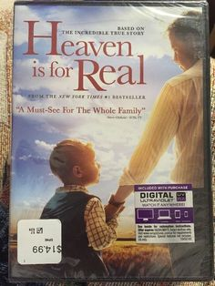 Heaven Is for Real (DVD, 2014, Includes Digital Copy; UltraViolet)