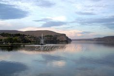 Fountain of Beauty Landscape Print Scenic Water by DeMintGallery