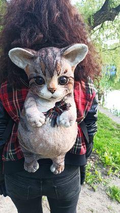 Cat Backpack, Backpacks, Bird, Cats, Animals, Gatos, Animales, Animaux, Birds