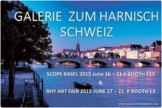 GALERIE ZUM HARNISCH Schweiz Shops, Basel, Art Fair, Movies, Movie Posters, Exhibitions, Switzerland, Tents, Film Poster