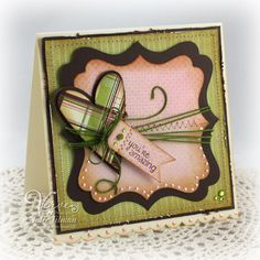 Amazing Heart by Vervegirl - Cards and Paper Crafts at Splitcoaststampers