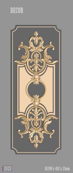 Decor Models For Cnc Aring Raquo Ordm Ccedil Shy Cnc Atilde Decor Aring Design Glass Design, Door Design, Wall Design, Carving Designs, Stencil Designs, Art Decor, Decoration, Motif Arabesque, 3d Cnc
