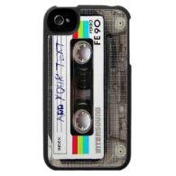 Customizable Cassette Tape iPhone 4 Case