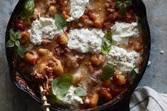 Chicken Parmesan Gnocchi Bake