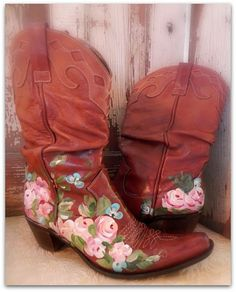 roses and boots~Website give details how to~