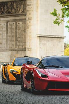 P1 & Ferrari