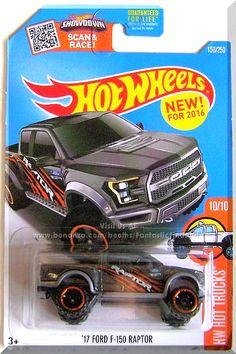 Hot Wheels HW City Ford F-150 45//250 Long Card 2013