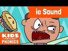 "Help your kids learn the ""ie"" phonic with this short video!"