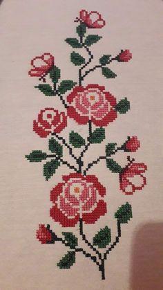 Cross Stitch Rose, Filet Crochet, Cross Stitch Patterns, Flowers, Crafts, Cross Stitch Kits, Cross Stitch Designs, Applique Templates, Cross Stitch Fruit