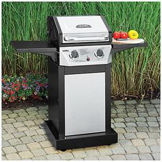 Marvelous Top Rated Grill For Smaller Patios And Decks    Dyna Glo Smart Space 2  Burner Gas Grill   Grilling!   Pinterest   Small Patio And Grilling