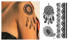 Laciness style LS-626 21 X 15 CM Sized Sexy Cool Beauty Tattoo Waterproof Hot Temporary Tattoo Stickers