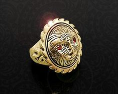 Maori Ring, New Zealand Tribal Warrior Ring, Handmade by Tuwharetoa Bone® God of War Warrior Ring, Tribal Warrior, Maori Designs, Maori Art, Bone Carving, God Of War, Turquoise Stone, New Zealand, Bones