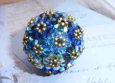 Bluepearls beads: beaded beads