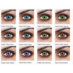 51 Ideas Eye Color Lenses Dark Brown For 2019 Best Colored Contacts, Prescription Colored Contacts, Purple Contacts, Natural Color Contacts, Costume Contact Lenses, Contact Lenses For Brown Eyes, Eye Color Chart, Color Charts, Blue Eye Color