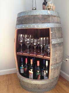 The 100 Mile Design Challenge: Final Project   Wine Barrel Cabinet