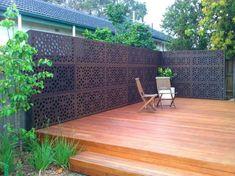Decking Ideas by Greenside Landscaping jali, i love it