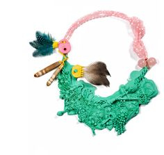 I haven't ever seen such insanely quirky and bold #jewelry! I totally need to get my hands on some of these pieces by Denise Julia Reytan. #iwant