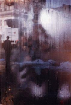 street scene by saul leiter, 1959