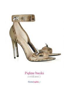 szpilki sandałki - Piękne buciki - z różkami:)