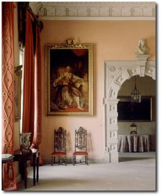 Sudbury Hall - Interior Decoration by John Fowler
