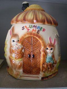 REDUCED half Price Vintage Bunny Rabbit Slumber Time by Bizzard