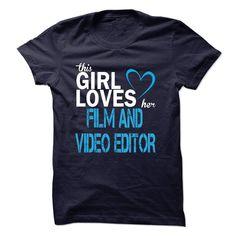 (Top Tshirt Fashion) FILM AND VIDEO EDITOR [Tshirt design] Hoodies, Tee Shirts