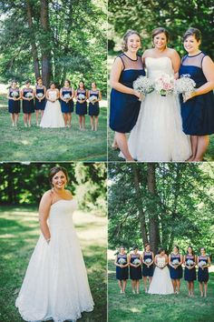 Connection Photography, Traveling Wedding Photography, Ohio, Chagrin Falls, Outdoor Wedding,Inspiration, Fall, DIY, Blue, baby's breath bouquet, bride, strapless wedding dress