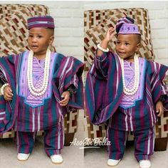 Agbada style for Kids 2017