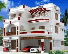 This Home Details Architecture Design plan map other all detail please give me Classic House Design, Bungalow House Design, House Front Design, Modern House Design, House Plans Mansion, Duplex House Plans, Modern House Plans, Double Story House, Indian House Plans