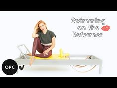 (42) Swimming on the Reformer | Online Pilates Classes - YouTube