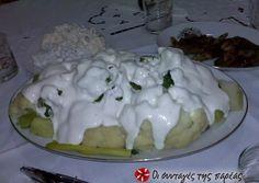 Κουνουπίδι και μπρόκολο με σώς φέτας συνταγή από τον/την evita_v - Cookpad