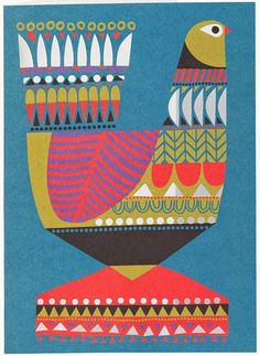 print & pattern: MARIMEKKO - kukuluuruu | Sanna Annukka, illustrator