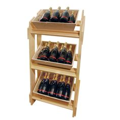 Wooden Display Stand With Wooden Trays | Retail Stands | WBC