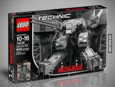 LEGO Metal Gear Solid Rex wish it was going to be a real set ;-(